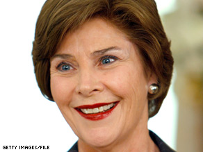 Former first lady Laura Bush said she knew why Cheney is speaking out -- and why her husband isn't.