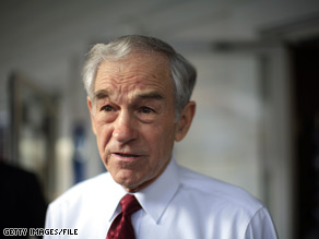 Ron Paul was a GOP presidential candidate in the 2008 campaign cycle.