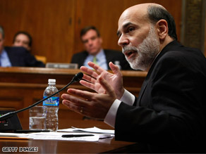 Federal Reserve Chairman Ben Bernanke slammed AIG in testimony on Capitol Hill Tuesday.