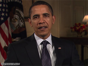 President Obama says the country will emerge from the economic crisis through bold actions.