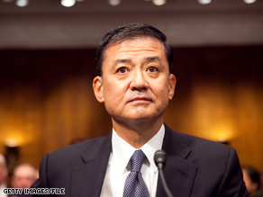 Veterans Affairs Secretary Eric Shinseki confirmed Tuesday that the Obama administration is considering a controversial a plan to make veterans pay for treatment of service-related injuries with private insurance.