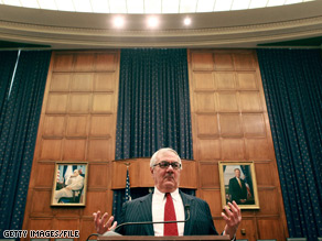 On Wednesday's 'American Morning,' Rep. Barney Frank, who chairs the House Finance Committee, shared what was legally and legislatively within the government's power on recovering the AIG bonuses.