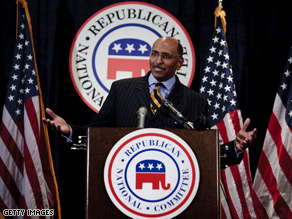 Michael Steele says the GOP does not 'want to be perceived as a bully.'