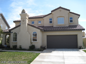 The house that the Aceves family is trying to short sell.