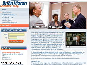 Moran is launching an online social network.