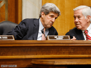 John Kerry, the chairman of the Senate Foreign Relations Committee, praised Chris Hill Wednesday.