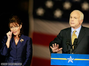 Sen. McCain said Sunday that he'd like to see Gov. Palin compete -- perhaps against a handful of other Republican governors -- for the White House in 2012.