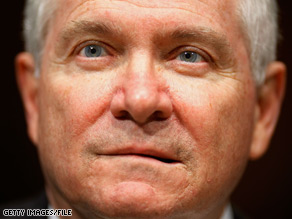 U.S. Defense Secretary Robert Gates is pushing a 2010 Pentagon budget that reflects major changes in Defense Department priorities.