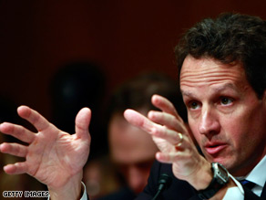 Tim Geithner called the nation's antiquated regulatory structure a 'spectacle.'