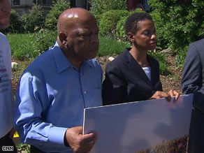 Rep. John Lewis faces a misdemeanor charge of trespassing.