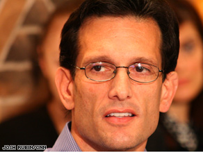 Rep. House Leader Eric Cantor reported bullets fired at his offices after the health care vote.