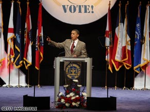 Obama previously spoke at the NAACP's convention during his presidential campaign in 2008.