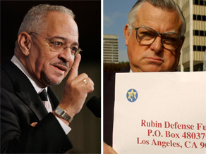 Reverend Jeremiah Wright (L) and Pastor Wiley S. Drake (R). Getty Images.