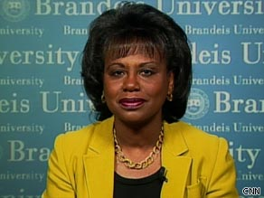 Anita Hill tells CNN's John Roberts that Judge Sonia Sotomayor is an 'excellent' choice for the Supreme Court.