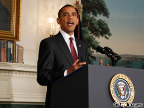 President Barack Obama talks about health care at the White House on July 17, 2009 in Washington, DC.