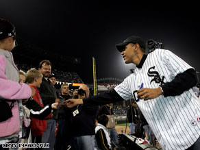 President Obama is a long-time White Sox fan.