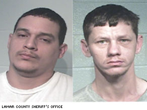 Charles Ryan Crostley (left) and Shannon Finley (right) were arrested for the murder of Brandon McClelland. They pleaded not guilty were found innocent last month.