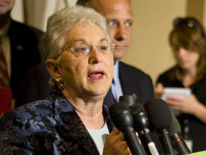Rep. Virginia Foxx, (R-NC) in 2008. Getty Images