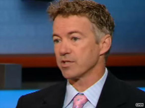 Rand Paul says his career as a political outsider should be a plus for voters.