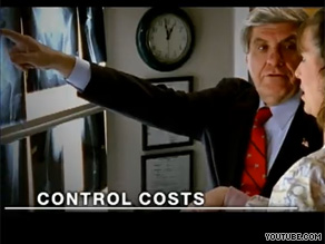 Nebraska Sen. Ben Nelson, a centrist Democrat up for re-election in 2012, is out with a new ad on health care reform.