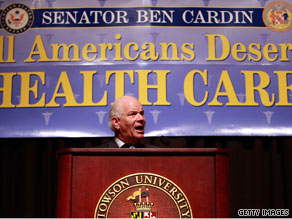 Maryland Democrat Sen. Ben Cardin has been holding a series of town halls this week.