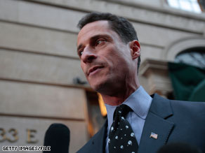 Rep. Anthony Weiner said Monday that President Obama will have a 'very difficult' time getting a health care bill passed without a public option.
