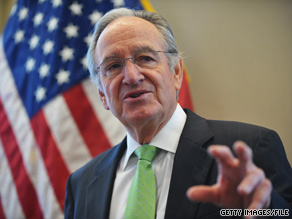 Sen. Harkin, who took over a key Senate committee after Sen. Ted Kennedy's death, said Sunday that the Senate's health care bill will have a strong public insurance option.