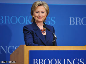 Secretary of State Hillary Clinton outlines sweeping agenda for U.N. conference.