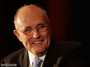 Rudy Giuliani announced Tuesday that he will not run for either governor or the U.S. Senate next year in New York.
