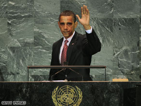 Obama calls for restarting Middle East talks on two-state solution .