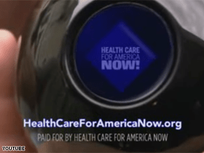 The largest city in Maine is ground zero in the television advertising war over health care reform that nationally is about to reach $100 million.