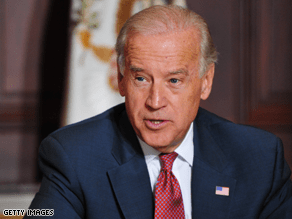 Biden said his son's decision not to run for Senate had nothing to do with politics.