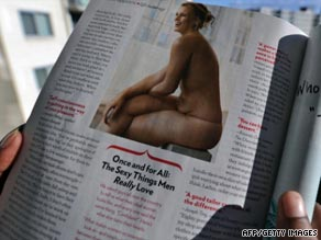 Glamour's unairbrushed photo of Lizzie Miller caused a stir last month.