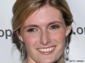 Alexandra Reeve campaigns for her late father's foundation.