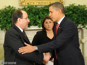President Barack Obama said U.S.-Iraqi ties are entering a new period.