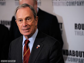 Bloomberg will be sworn in to a third term as mayor Friday.