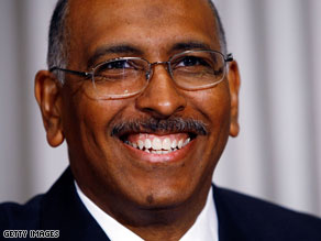 Republican National Committee Chairman Michael Steele isn't predicting victory yet in the Virginia and New Jersey governor's races.