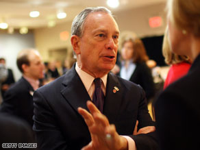 NYC Mayor Bloomberg up by double digits in home stretch.