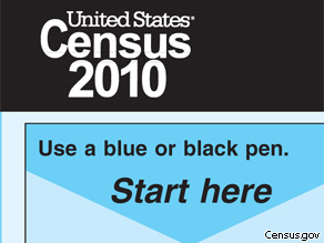 The short form of the 2010 census has just 10 questions, but it is controversial.