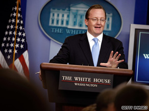 White House Press Secretary Robert Gibbs called Tuesday's races in New Jersey and Virginia 'local elections.'