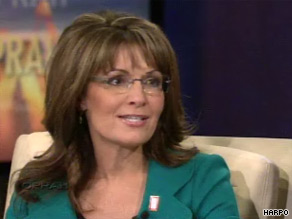 Palin discussed Levi Johnston and the Katie Couric interviews in her sit-down with Oprah.