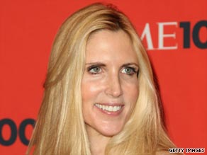 Ann Coulter - the 'Michael Moore of the right'