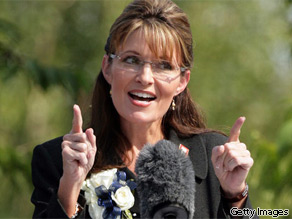 Former vice presidential candidate Sarah Palin appeared on the Oprah Winfrey Show on Monday.