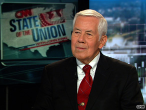 Sen. Lugar said Sunday that the Senate should spend the remainder of 2009 focused on the Afghanistan war and budgetary matters.