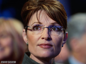 Former Alaska Gov. Sarah Palin continued to blast believers in climate change Friday.