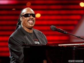 Stevie Wonder: living legend and White House favourite.