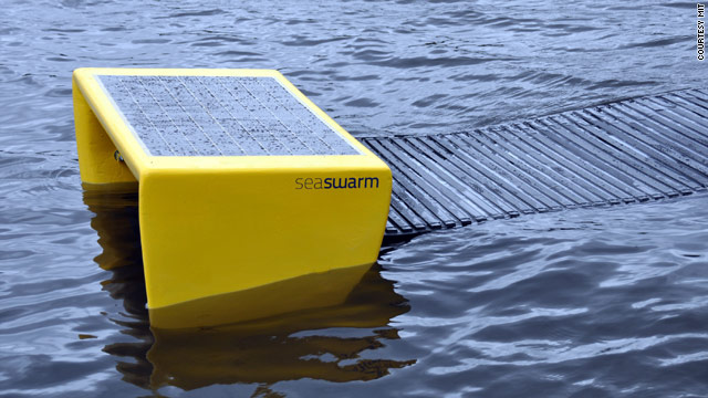 Prototypes of the MIT Seaswarm robots have been tested in the ocean, but they're not ready for commercial use.