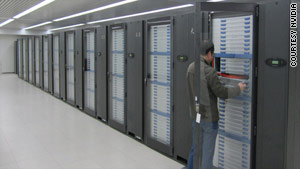 The Tianhe-1A supercomputer in Tianjin, China: Power is nothing without control.