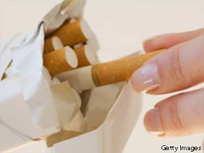 A study of 11,000 middle-aged people found that those who quit smoking gained an average of 8.4 pounds.