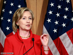 Secretary of State Hillary Clinton warned Friday that violence is on the rise in Sudan.